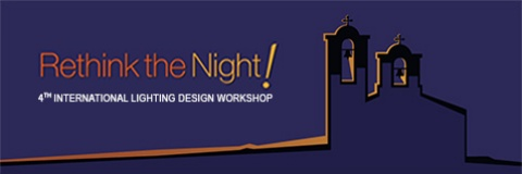 "cor light belongs to the circle of sponsors of the ""Rethink the Night!"" - International Lighting Design Workshop"