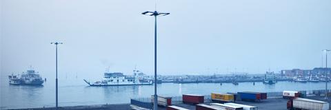 """Port terminal """"Molo di Ponente"""", Venice"""